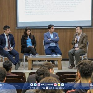"A panel Discussion on "" Non-Economic Factors and its Role the Development of Financial Crisis"