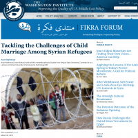 An Article by a KUST Faculty Member on Fikra Forum -Washington Institute for Near East Policy